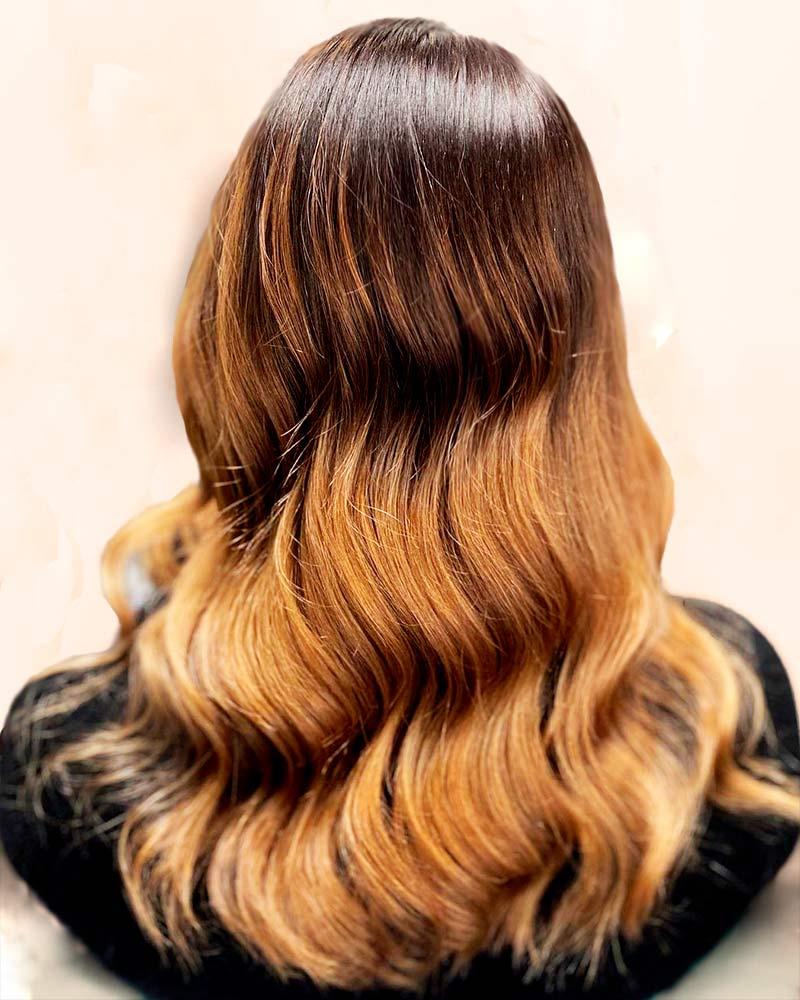 Lille hiusten leikkaus ja värjäys
